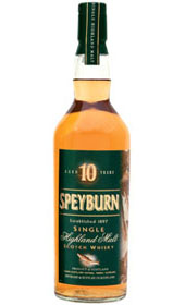Speyburn 10 Single Malt Scotch