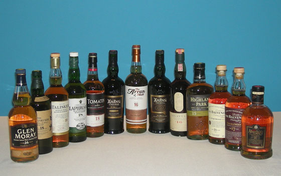 The Single Malt Scotch Aged 15+ Tasting