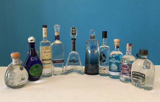 The Fifty Best Blanco Tequila Tasting 2017