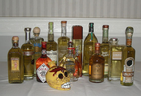 The Fifty Best Reposado Tequila Tasting 2012