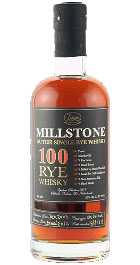 Millstone 100 Dutch Single Rye Whisky