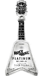 Rock N Roll Platinum Silver Tequila