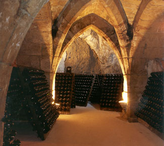 Champagne chalk cellars