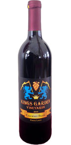 Kings Garden Vineyards 2010 Cabernet Franc