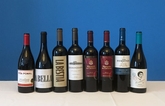 The Fifty Best Spanish Red Wine Tasting of 2019