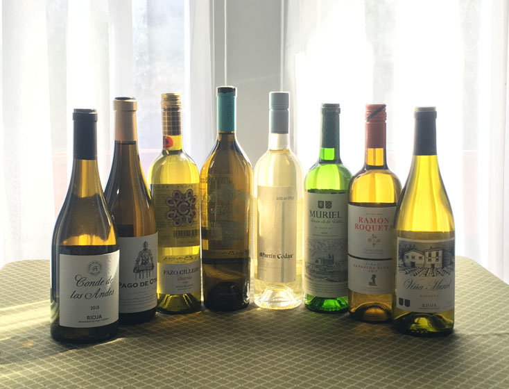 The Fifty Best Spanish White Wine Tasting of 2018