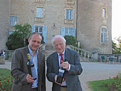 Bertrand & Georges Vigouroux of Château de Mercuès