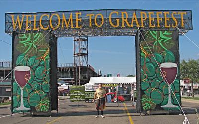 Grapefest Entrance