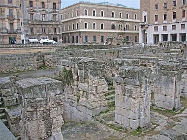 Lecce ruins
