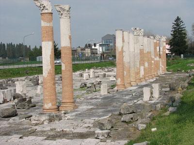 Roman ruins at Aguileia