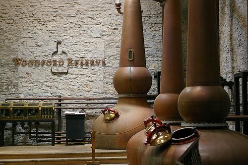 Woodford Reserve distillery