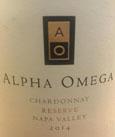 Alpha Omega 2014 Chardonnay Reserve