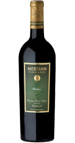 Merriam Vineyards Windacre Vineyard Merlot
