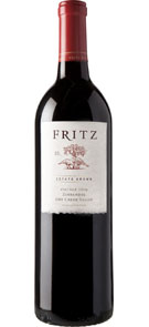 Fritz 2013 Estate Grown Zinfandel Dry Creek Valley