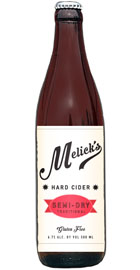 Melick's Hard Cider Semi-Dry Traditional