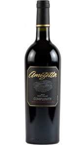 Amizetta Estate Winery 2011 Complexity