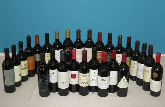 The Fifty Best Napa Valley Cabernet Sauvignon Tasting of 2014