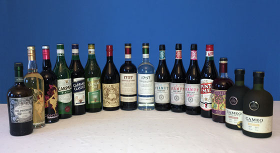 The Fifty Best Vermouth Tasting
